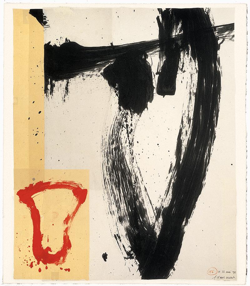 Journées Européennes du Patrimoine, 17 et 18 septembre 2016. Exposition de Gérard Titus-Carmel, Suite Grünewald, une peinture et 36 dessins